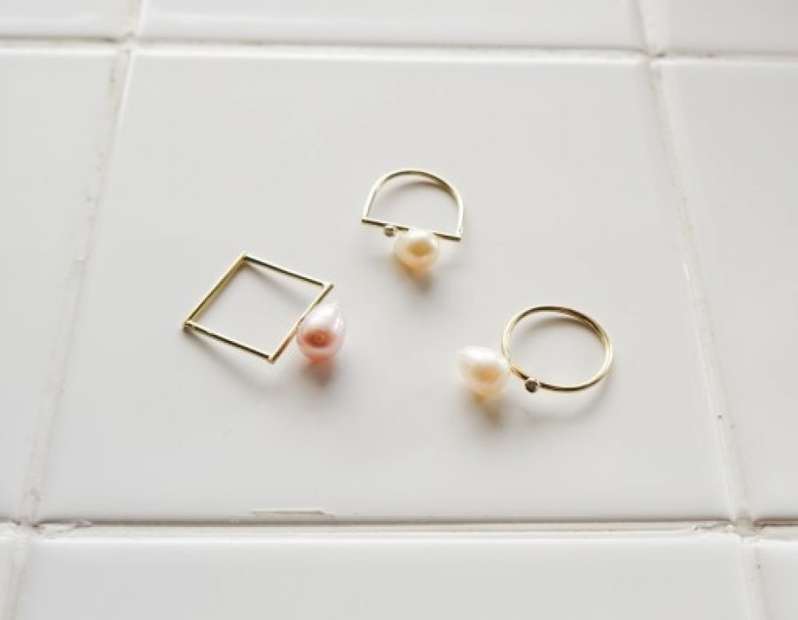Diagrammatic Pearl Rings